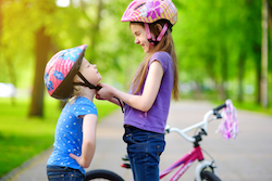 Kids and Bike Helmets
